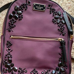 A backpack purse